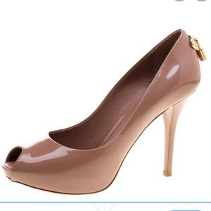 Louis Vuitton Oh Really Open Toe Pump Size 37.5